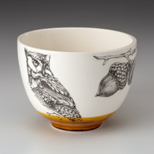 Small Bowl: Screech Owl #1
