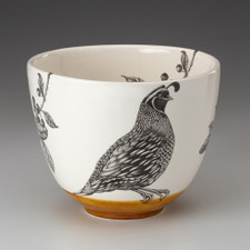 Medium Bowl: Quail #1