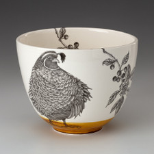 Medium Bowl: Quail #3