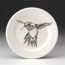 Bread Plate: Hummingbird #2