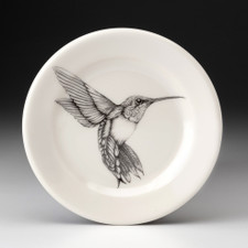 Bread Plate: Hummingbird #4