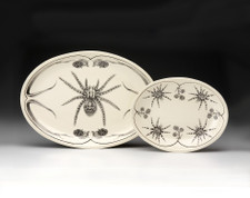 Oval Platter: Tarantula (shown at left)