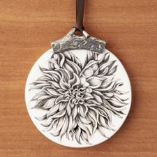 Ornament: Dinner Plate Dahlia