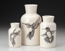 Set of 3 Jars: Hummingbird
