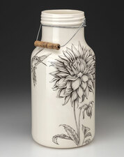 Jug with Handle: Cactus Dahlia