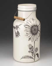 Jug with Handle: Daisy
