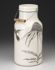 Jug with Handle: Cone Flower