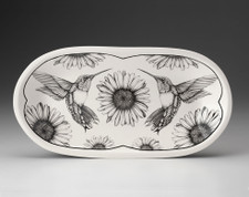 Rectangular Serving Dish: Hummingbird #4