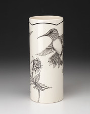 Large Vase: Hummingbird #1