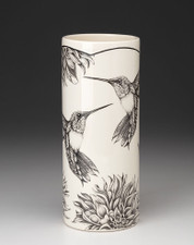 Large Vase: Hummingbird #4