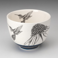 Small Bowl: Hummingbird #4