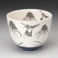 Medium Bowl: Hummingbird