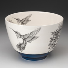 Large Bowl: Hummingbird #4