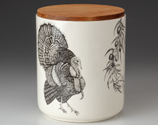 Large Canister with Lid: Turkey