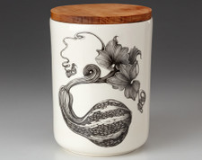 Medium Canister with Lid: Curshaw Gourd