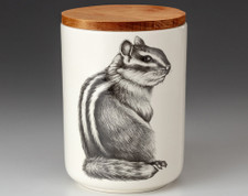 Medium Canister with Lid: Chipmunk #3