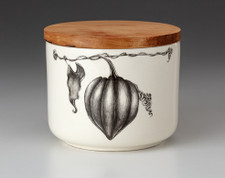 Mini Canister with Lid: Acorn Squash