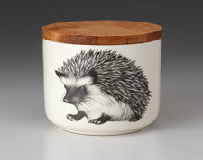 Mini Canister with Lid: Hedgehog #1