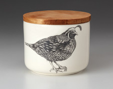 Mini Canister with Lid: Quail #2