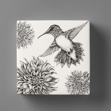 Wall Box: Hummingbird #1