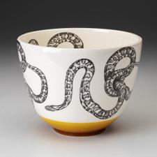 Medium Bowl: Leopard Snake