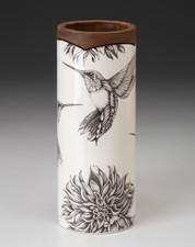 Small Vase: Hummingbird #4