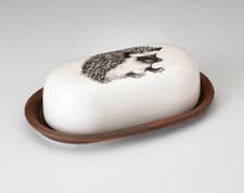 Butter Dish: Hedgehog #1