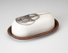 Butter Dish: Horseshoe Crab
