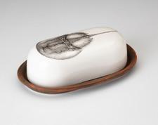 Butter Dish: Horseshoe Crab