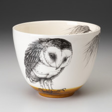 Medium Bowl: Barn Owl