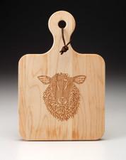 Maple Board: Suffolk Sheep