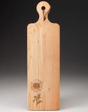 Maple Bread Board: Daisy
