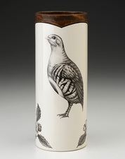Small Vase: Partridge