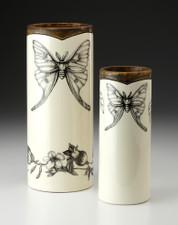 Large Vase: Luna Moth