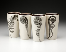 Set of 4 Tumblers: Ferns