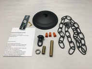 Round Edge Ceiling Plate Canopy Kit For Mounting Chandeliers & Pendant Light Fixtures