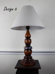 Large Liberty Lamp - Patriotic