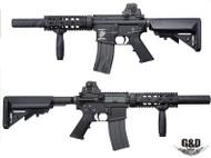 G&D GD-9556 M4 CQB SD DTW MAX3 AEG Rifle in Black