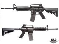 G&D AR-15 Full Metal Carbine DTW AEG in Black