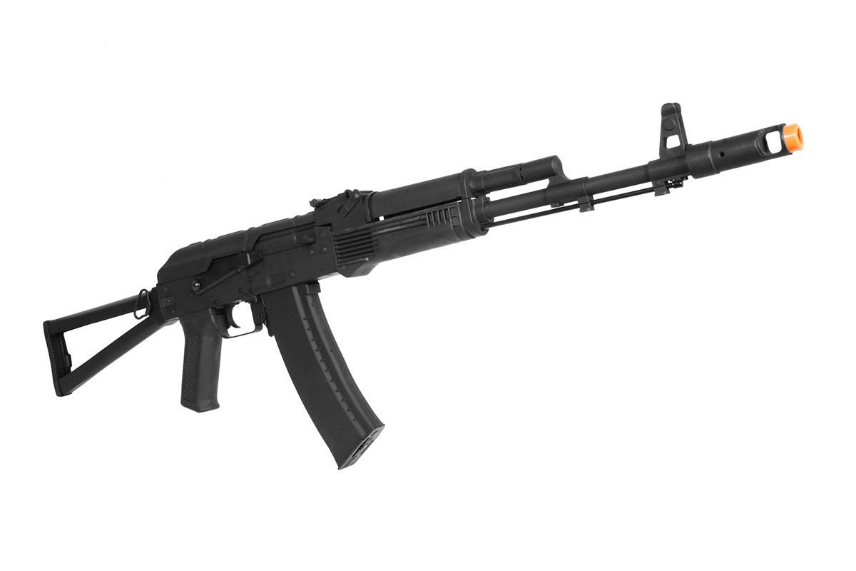 Cyma CM031C Electric AK47 Folding Stock Airsoft Rifle in Black