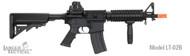 Lancer Tactical M4 CQBR MK18 AEG in Black LT-02B