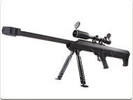 Snow Wolf Barrett M99 Sniper Rifle with Scope in Black