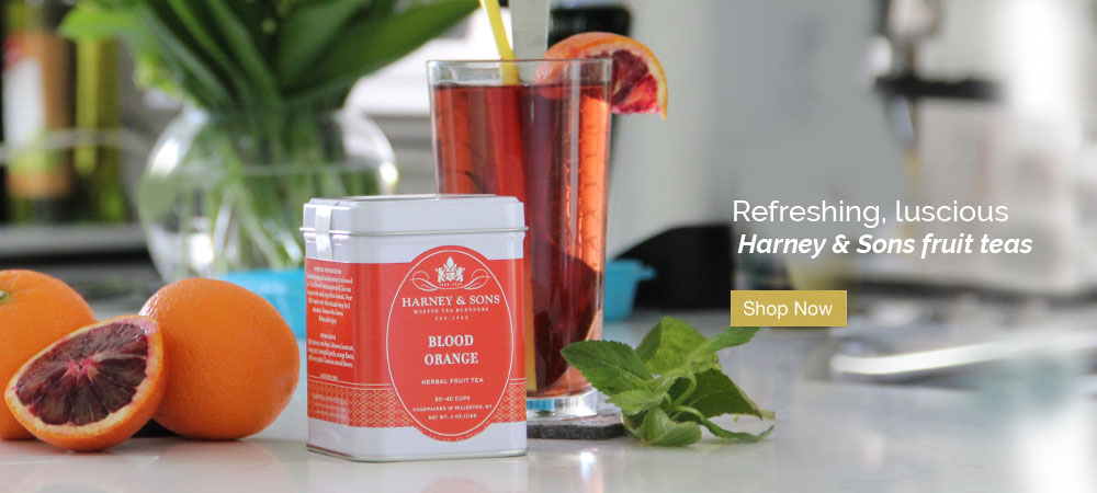 Refreshing, luscious Harney & Sons fruit teas. Shop Now.
