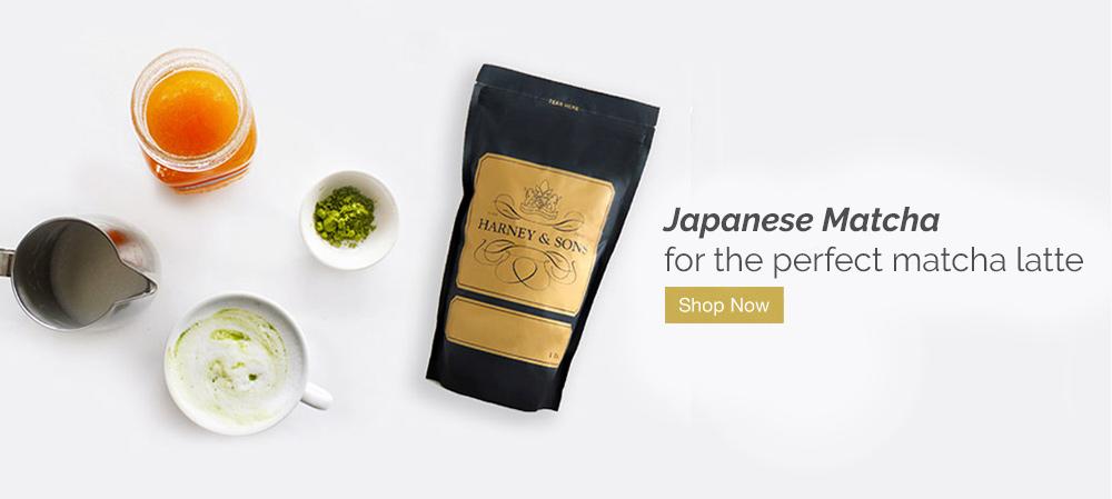 Japanese Matcha for the perfect matcha latte