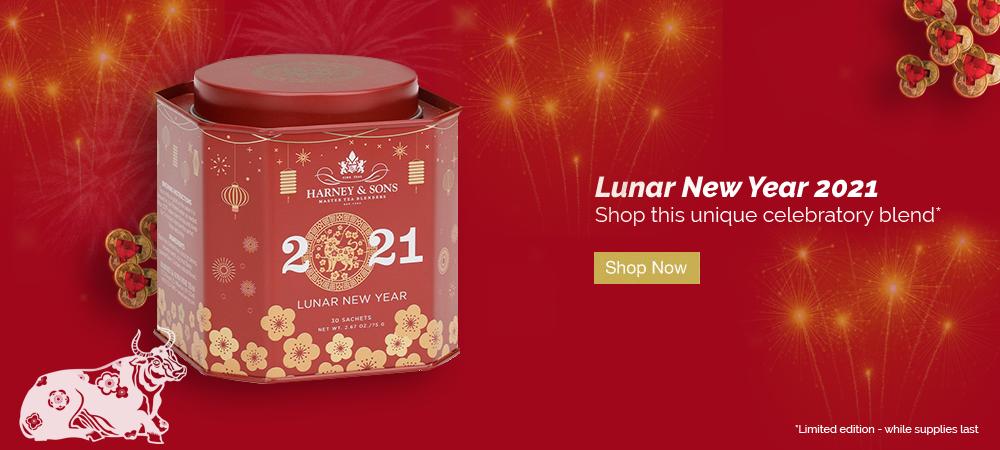 Lunar New Year 2021 - Shop this unique celebratory blend. Shop Now.