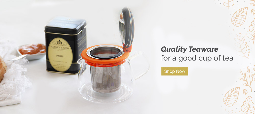 Quality teaware for a good cup of tea. Shop Now.