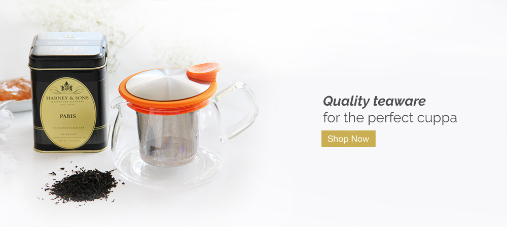 Quality teaware for the perfect cuppa. Shop Now.