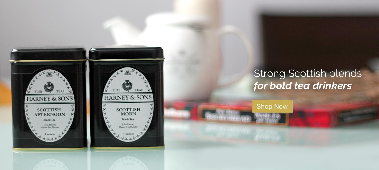 Strong Scottish blends for bold tea drinkers