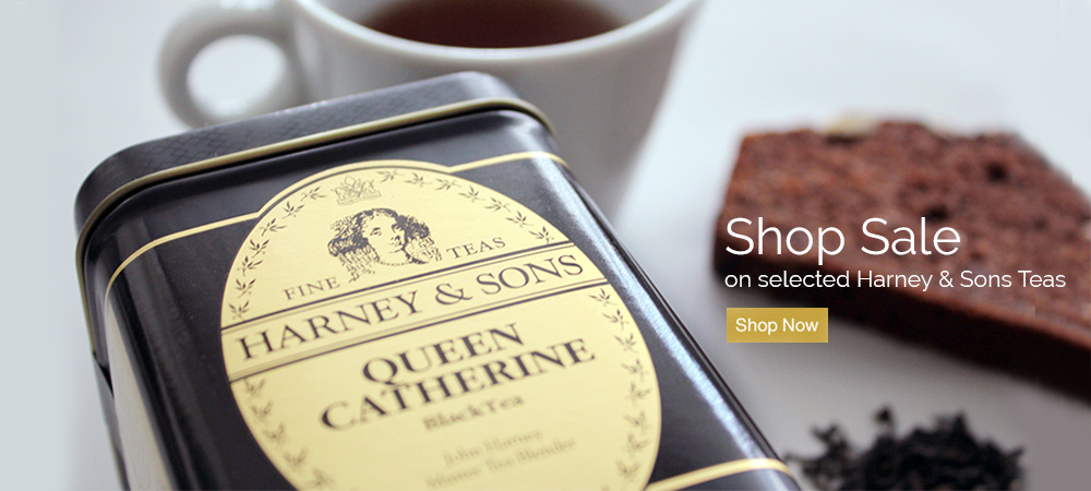Shop Sale on selected Harney & Sons Teas