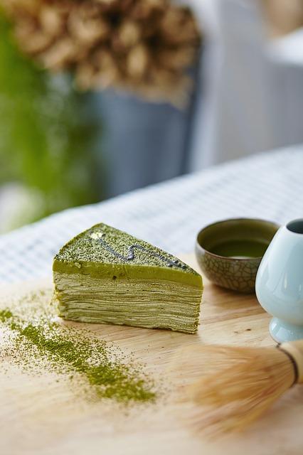 Matcha Dessert with a Culinary Grade Matcha
